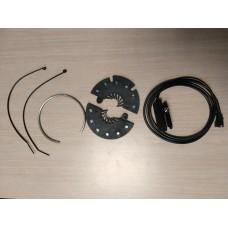 Capteur de pédalage à installation sans outil